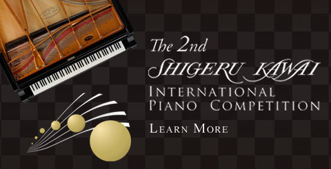 2nd Shigeru Kawai International Piano Competition