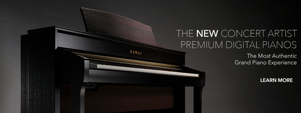 Kawai Concert Artist Series Digital and Hybrid Pianos