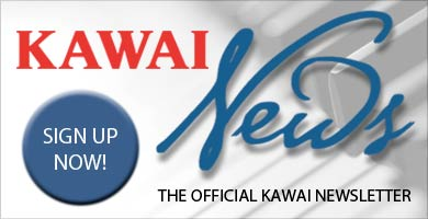 Sign Up For The Kawai Newsletter