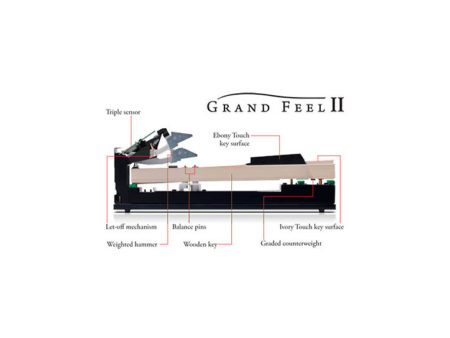 Kawai Grand Feel II Action