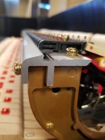 Duel Beam Aluminum Hammer Rail