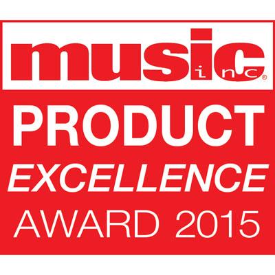 Music Inc Supplier Excellence Award 2015