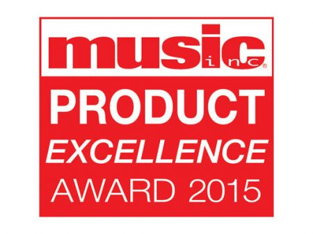 Music Inc Supplier Excellence Award 2015