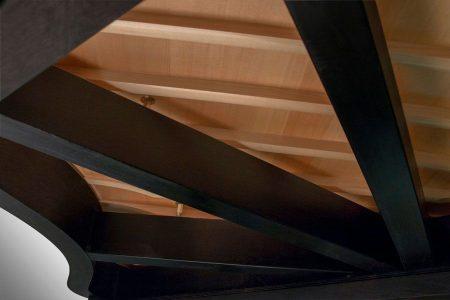 Kawai GX Series Grand Piano Joinery