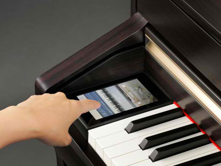 Kawai CA Digital Piano Touchscreen