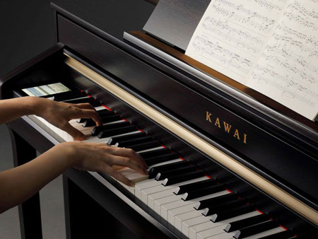 Kawai CA Series Digital Piano Playing