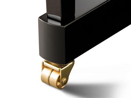 Kawai K Series Brass Casters