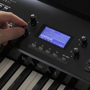 Kawai MP Series Digital Piano Panel