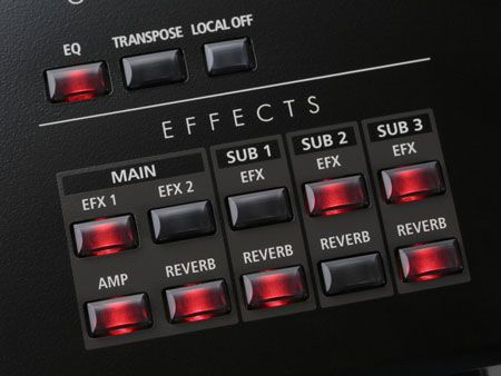 Kawai MP7 Digital Piano Effects