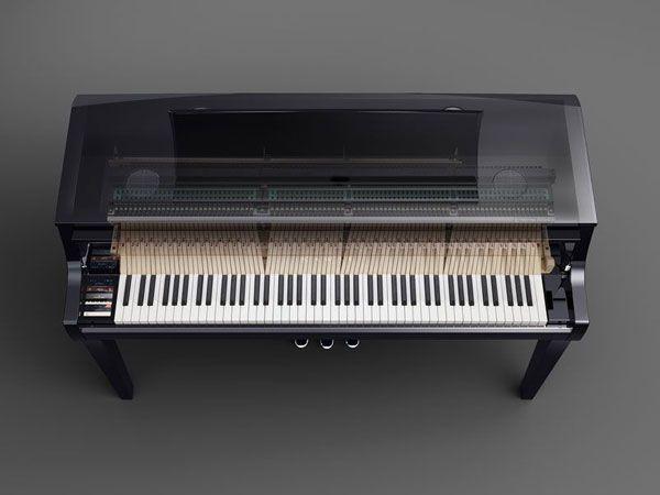 Kawai Novus NV10 Hybrid Piano Overhead