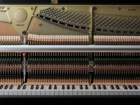 Kawai Upright Piano Action