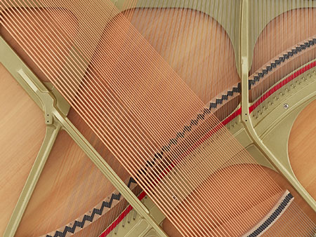 Kawai Upright Piano Plate and Strings
