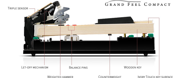 Kawai Grand Feel Compact Action