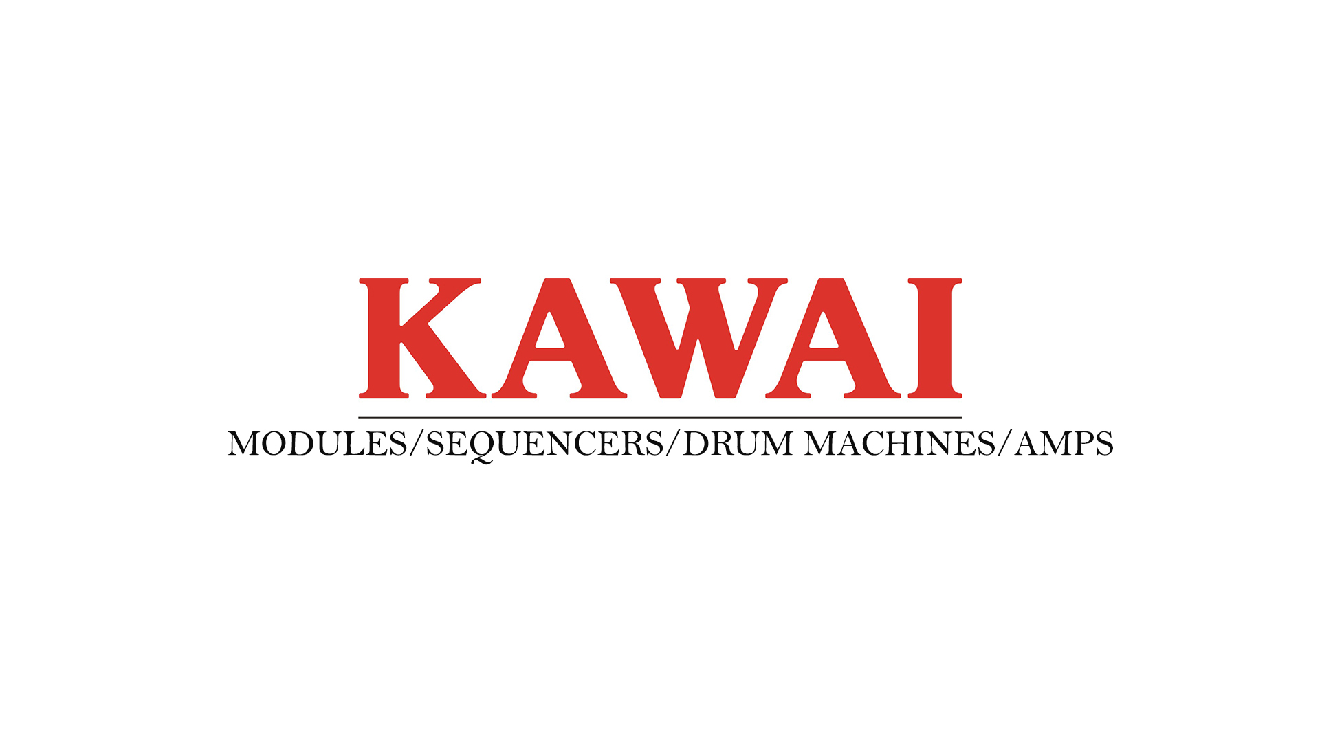 Kawai Sound Modules,Sequencers,Drum Machines,Amps Owner's Manuals