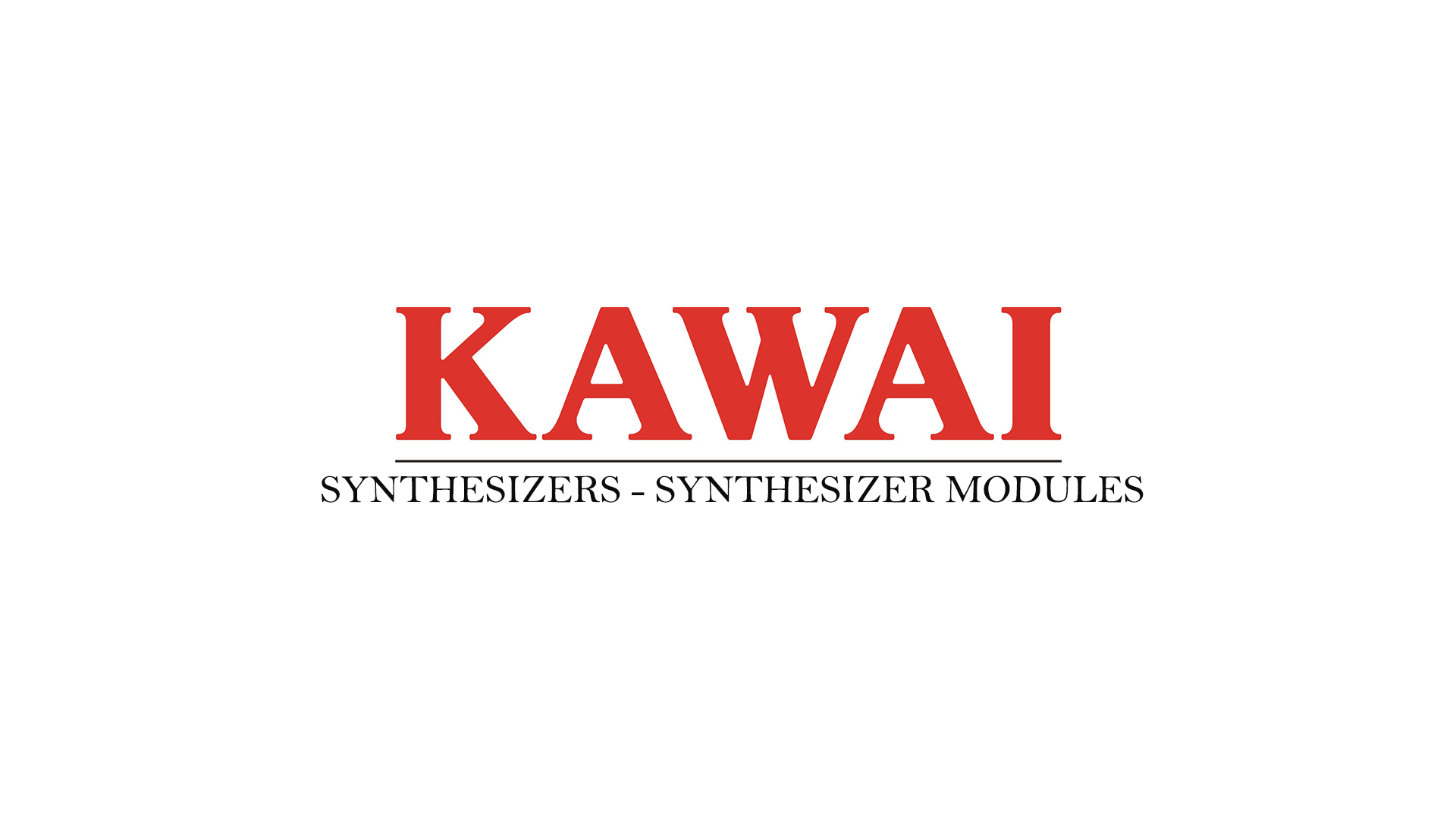Kawai Synthesizers - Synthesizer Modules Owner's Manuals