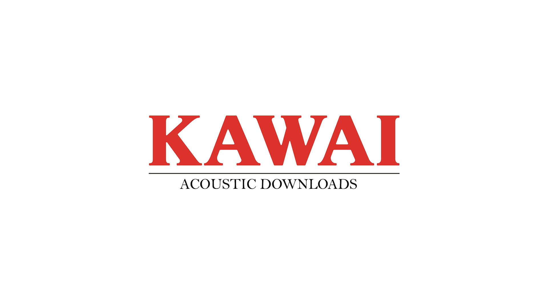 Kawai Acoustic Downloads